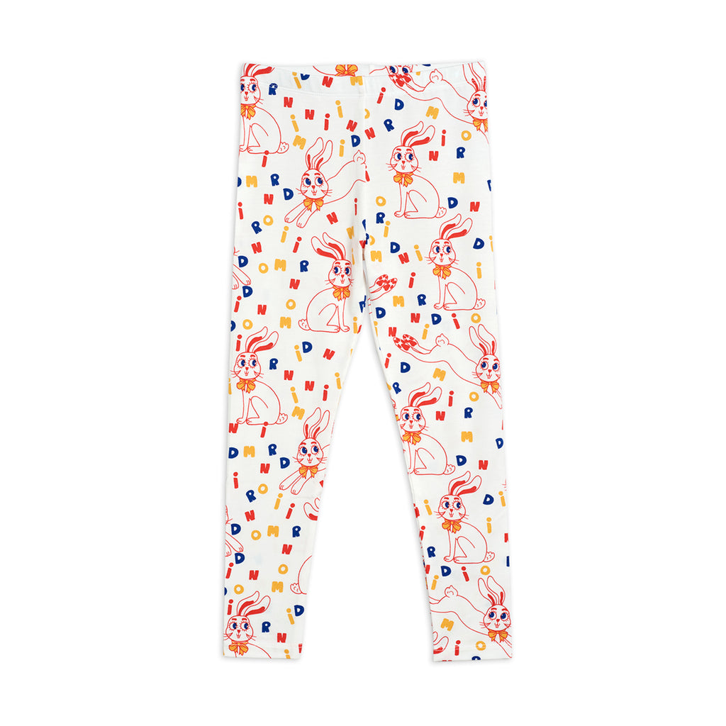 MR Rabbit Leggings by Mini Rodini - Petite Belle