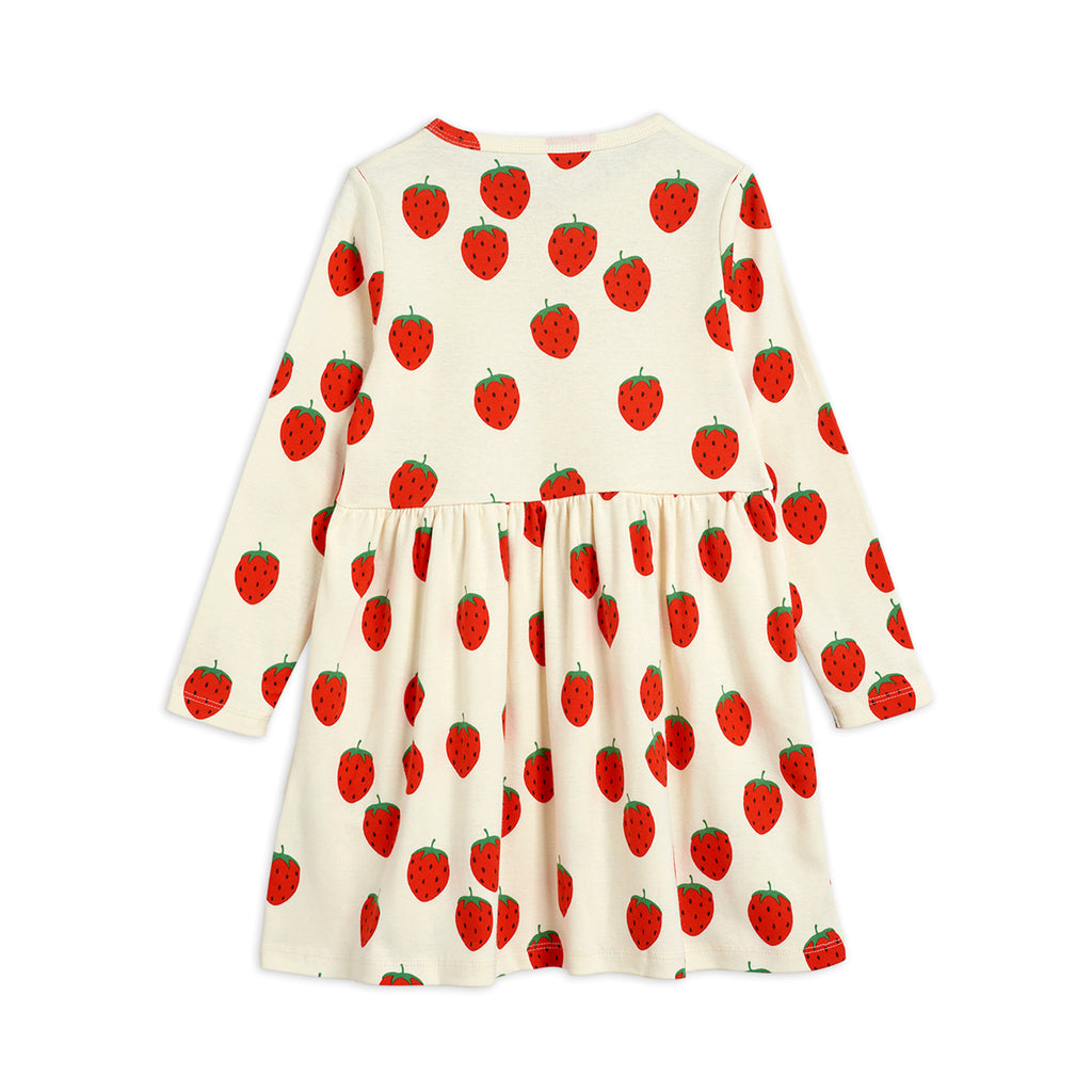 Strawberry Long Sleeves Dress by Mini Rodini - Petite Belle