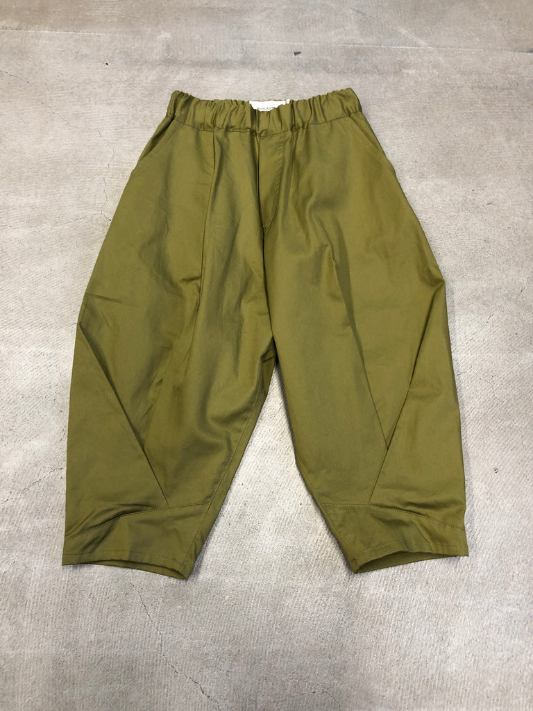 Khaki Baggy Cross Pants - Petite Belle