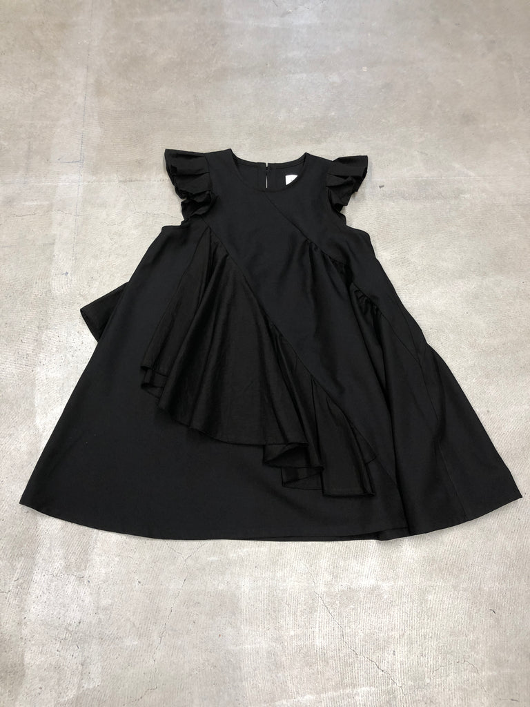 Black Frill Dress - Petite Belle