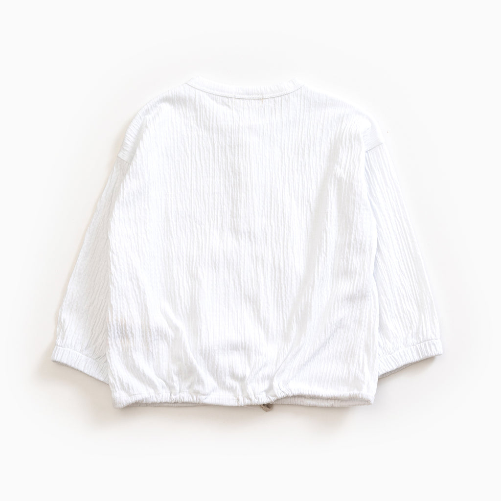 White Jersey Shirt - Petite Belle