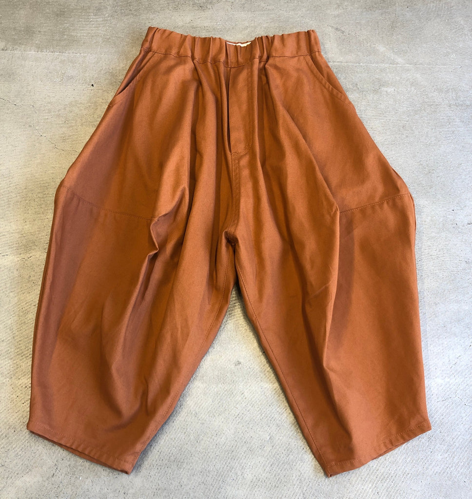 Orange Ox Pointed Pants by Nunuforme - Petite Belle
