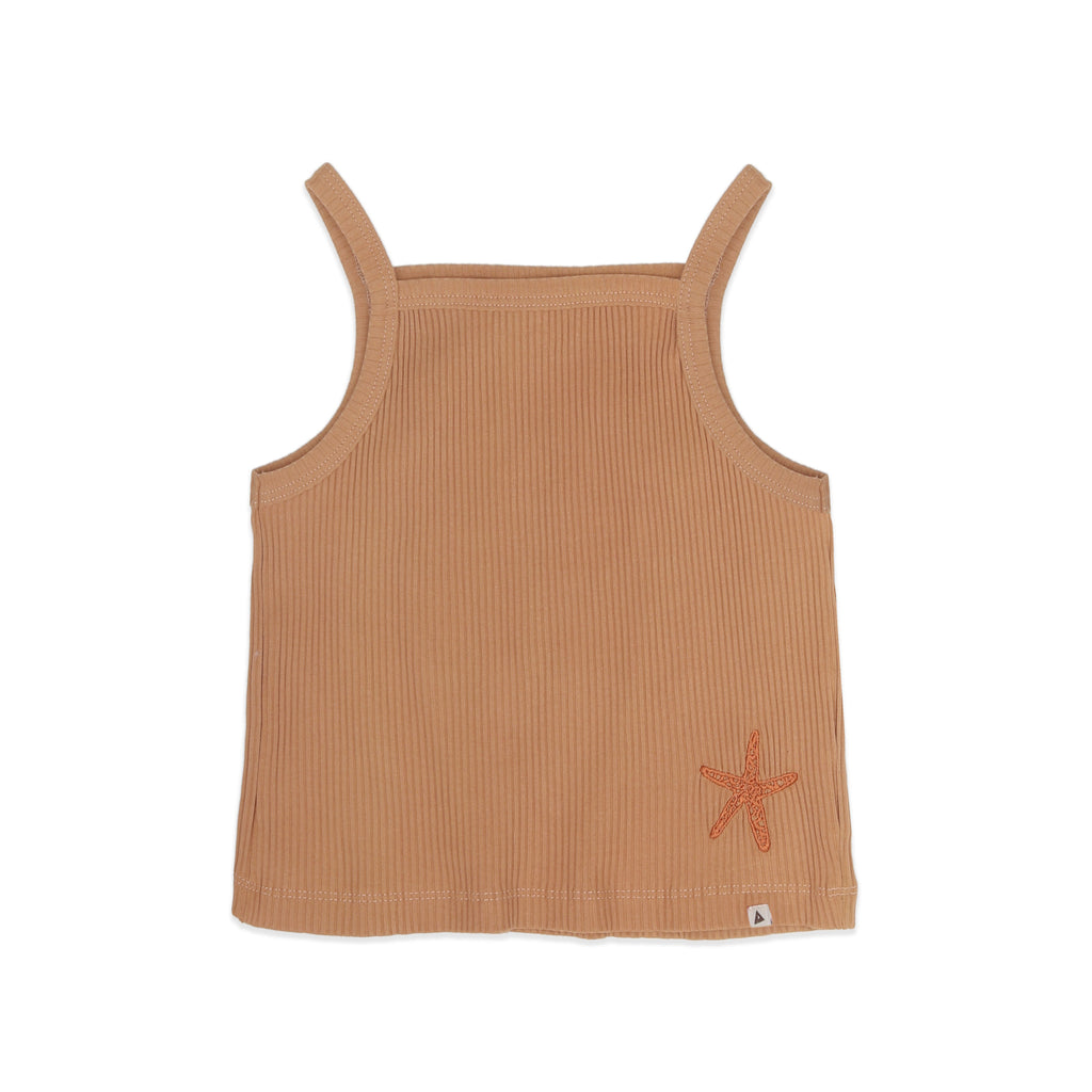 Starfish Cropped Singlet - Petite Belle