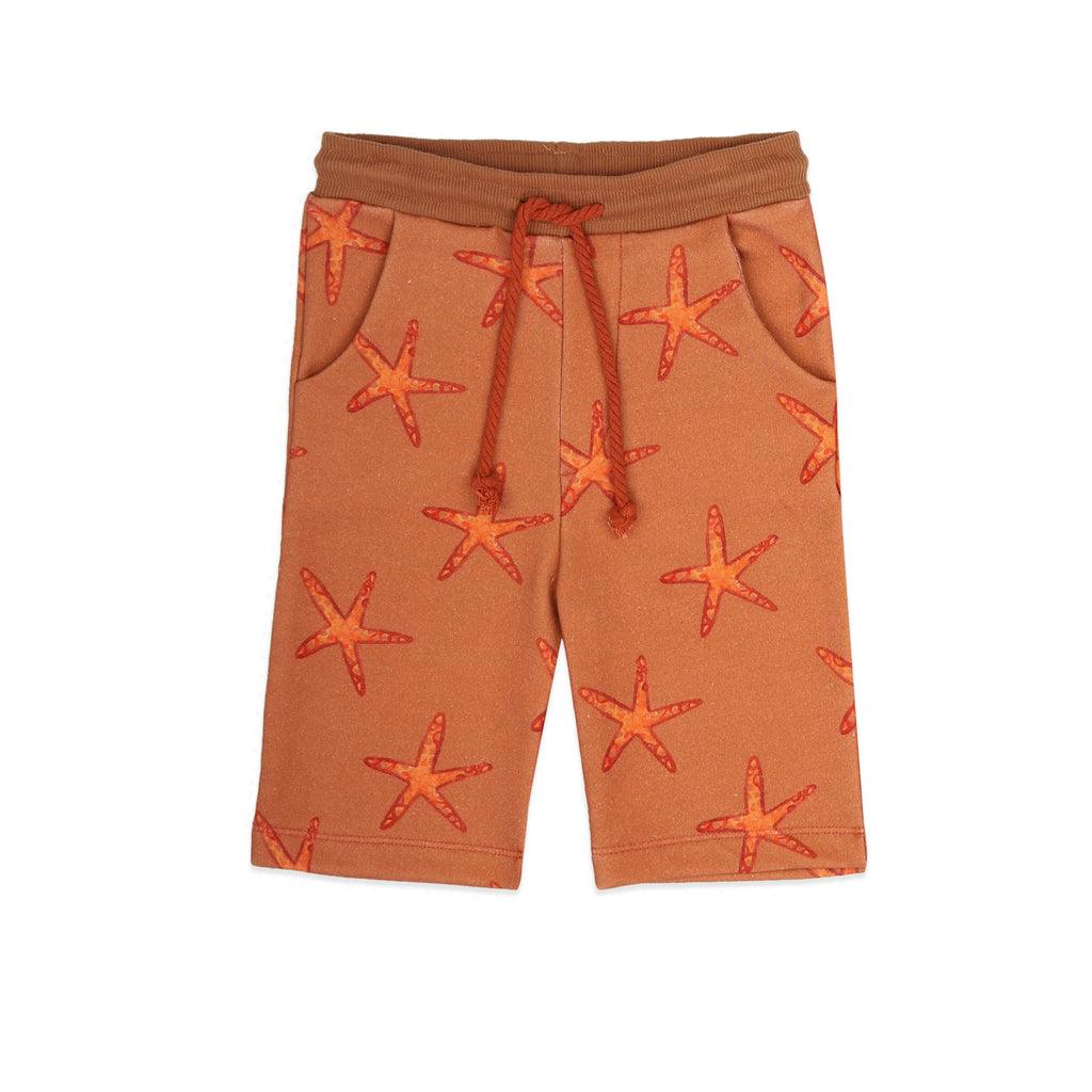 Starfish AOP Long Shorts - Petite Belle