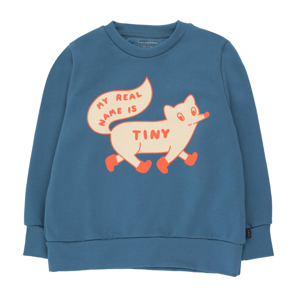 Tiny Fox Sweatshirt by Tinycottons - Petite Belle