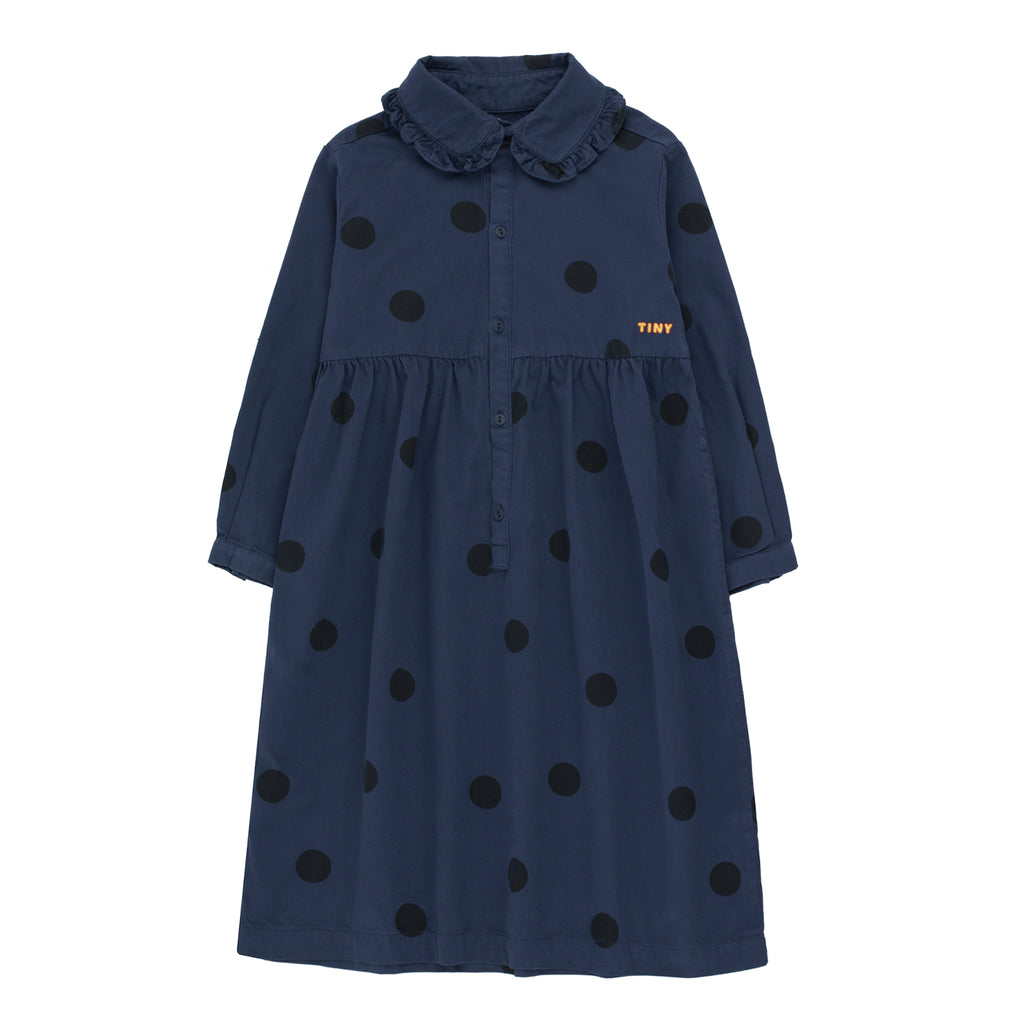 Big Dots Dress by Tinycottons - Petite Belle