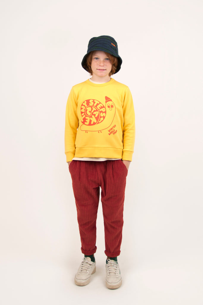 Tiny Steps Sweatshirt by Tinycottons - Petite Belle