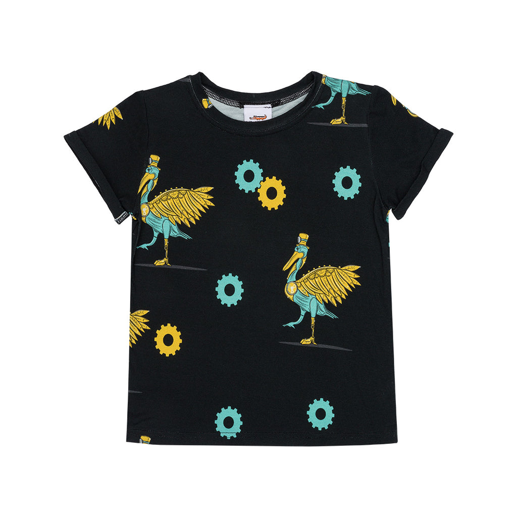 Dr. Pelican Short Sleeves Tee by Jelly Alligator - Petite Belle