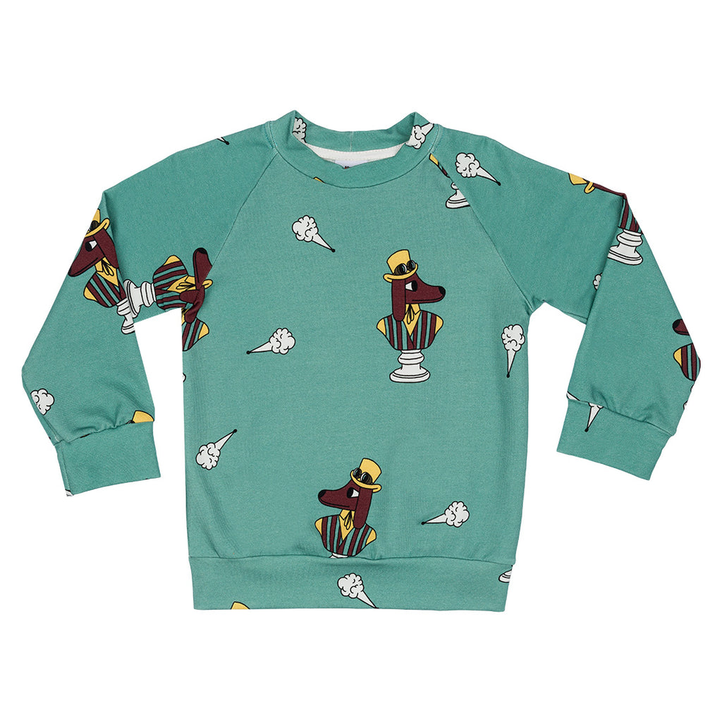 Fogdog Sweatshirt by Jelly Alligator - Petite Belle