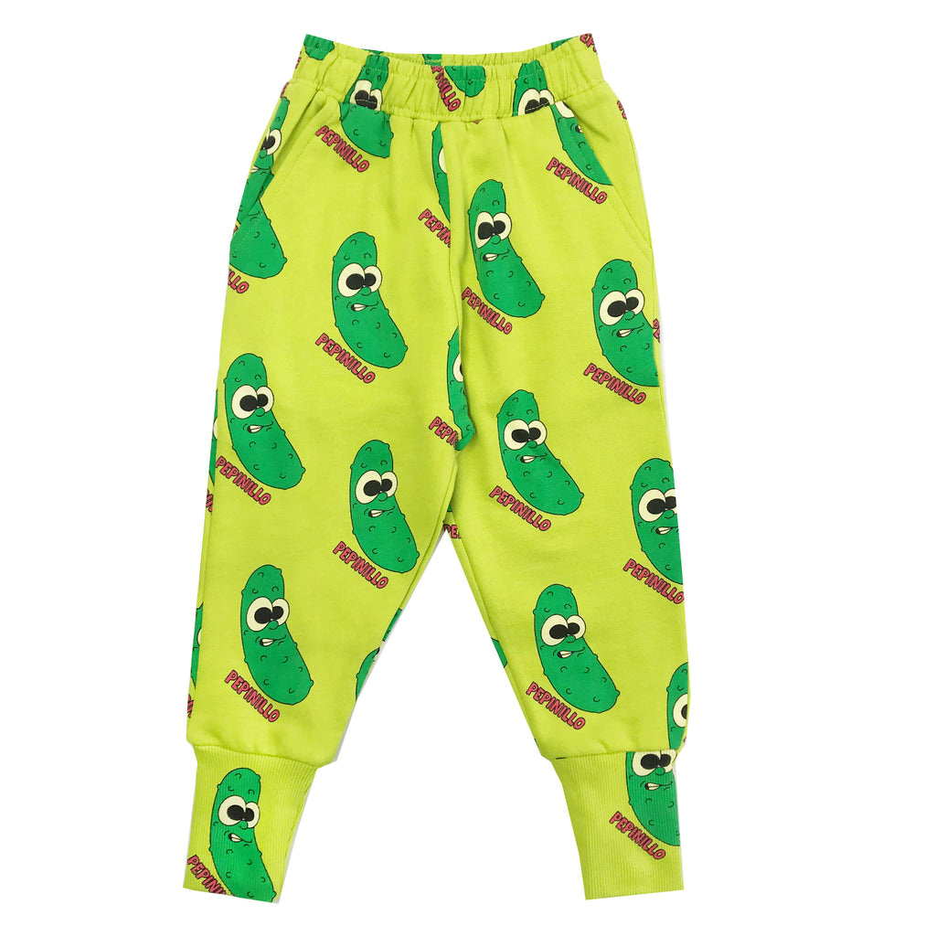 Green Pickles Sweatpants by Hugo Loves Tiki - Petite Belle