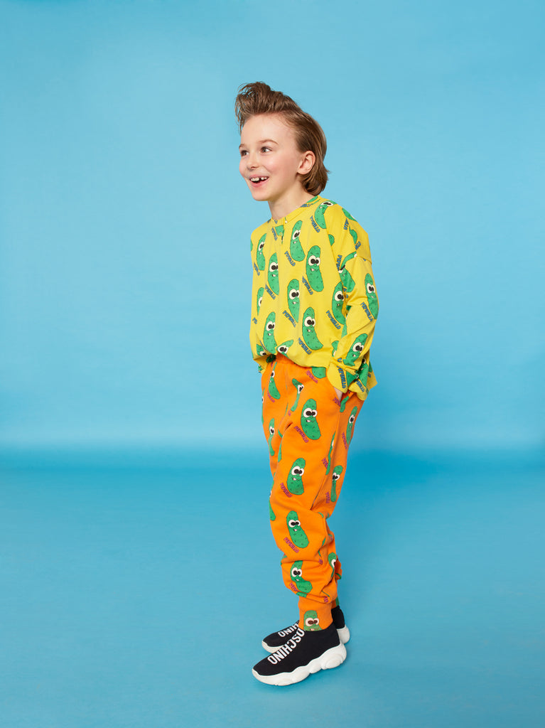 Orange Pickles Sweatpants by Hugo Loves Tiki - Petite Belle
