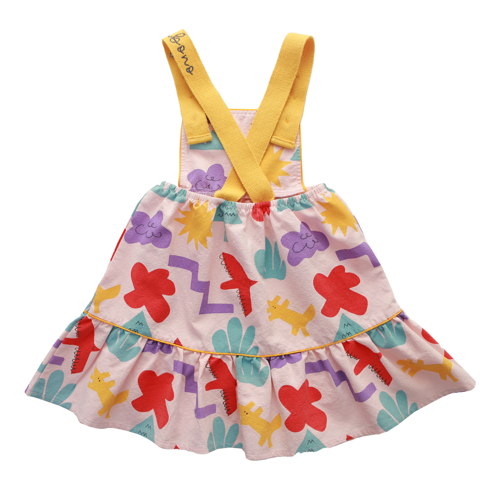 Block Park Dress by Bonbono - Petite Belle