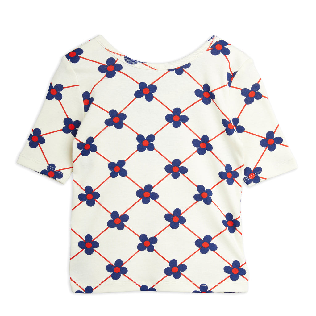 Flower Check Ballet Top by Mini Rodini - Petite Belle