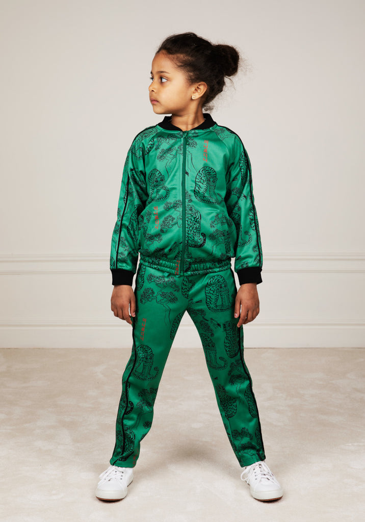 Green Tiger WCT Trousers by Mini Rodini - Petite Belle