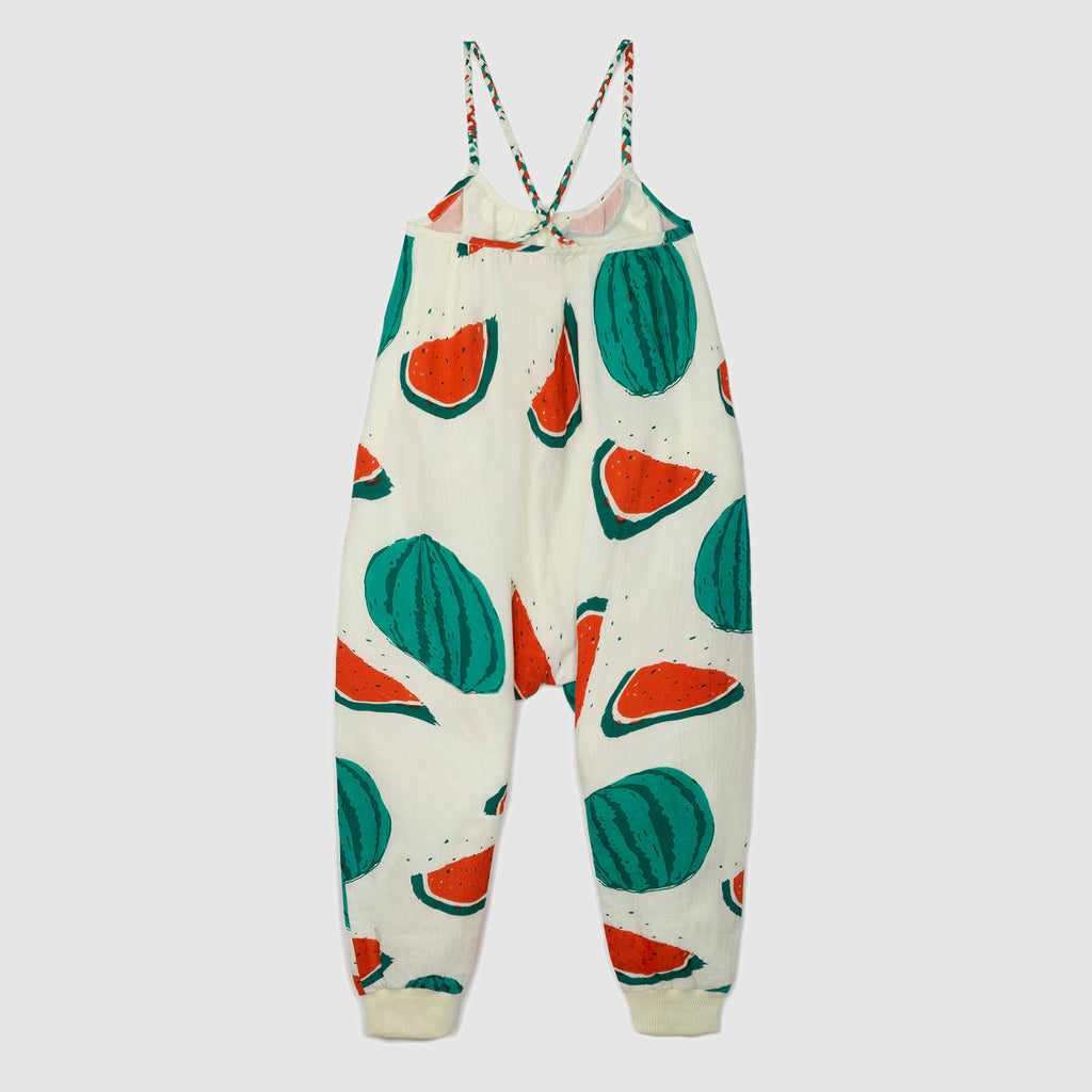 Wadi Watermelon Jumpsuit - Petite Belle