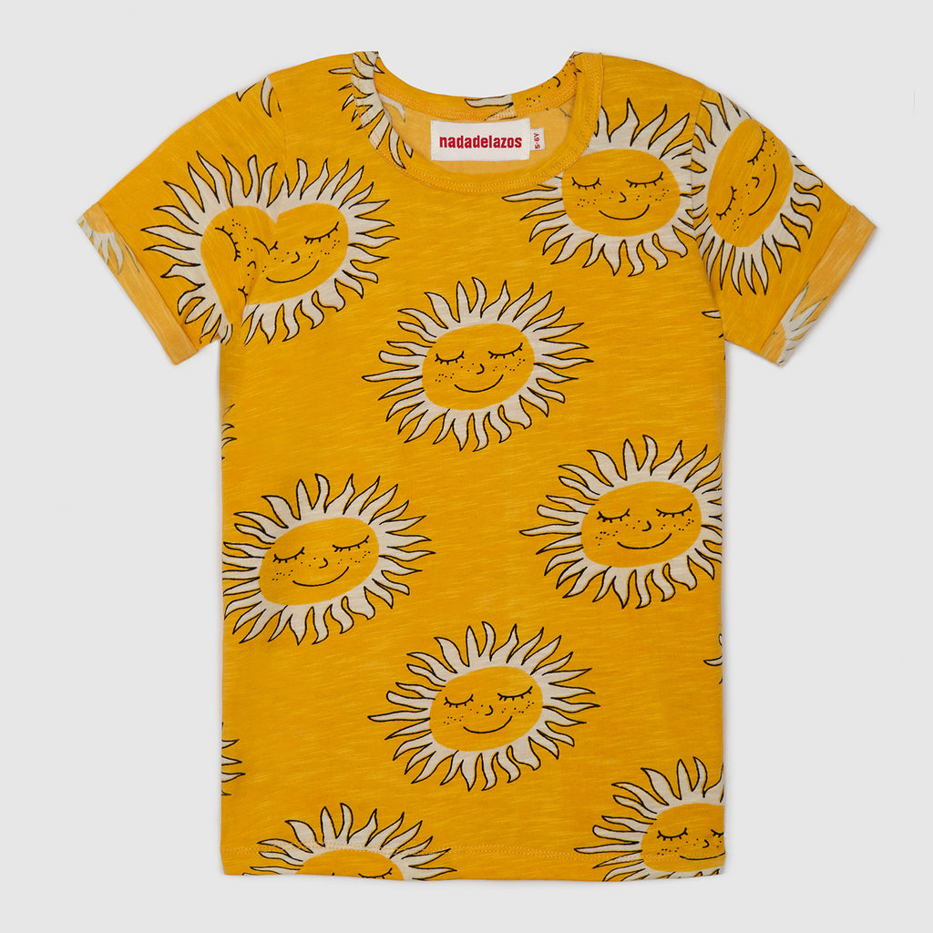 Deep Soul Yellow T-Shirt - Petite Belle