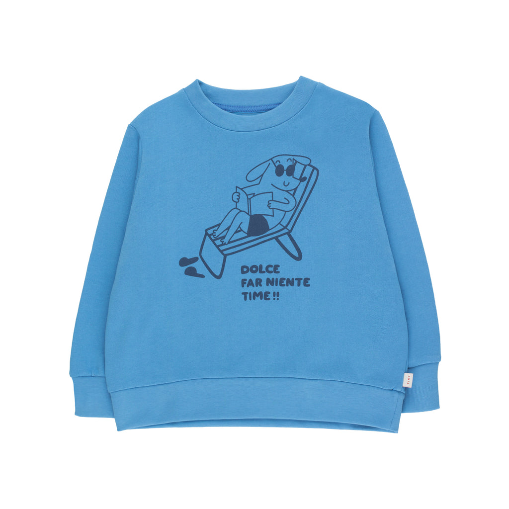 Reading Dog Sweatshirt - Petite Belle