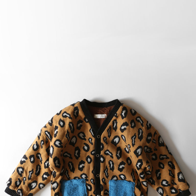 Brown Leopard Coat by Licomas - Petite Belle