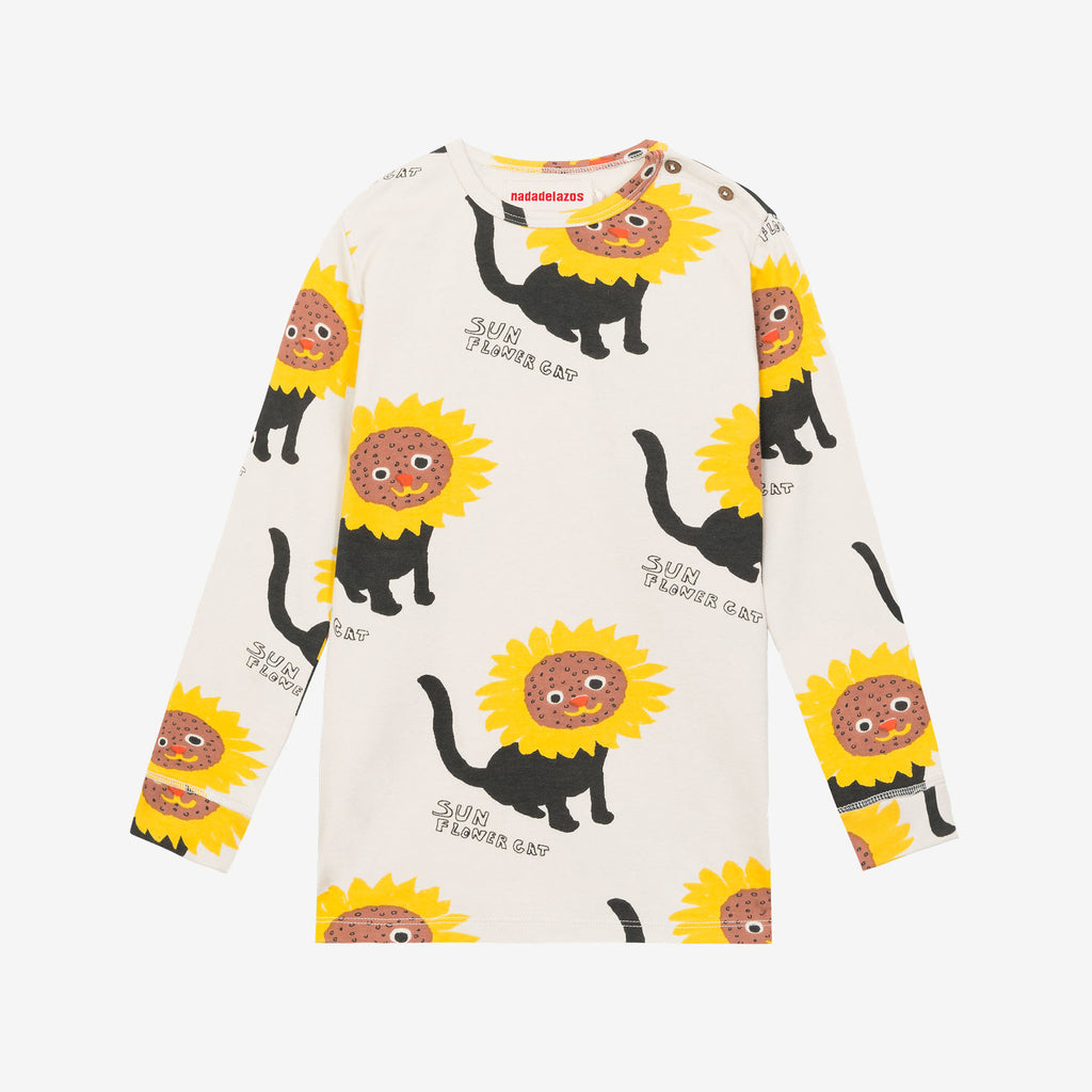 Sunflower Cats T-Shirt by Nadadelazos - Petite Belle