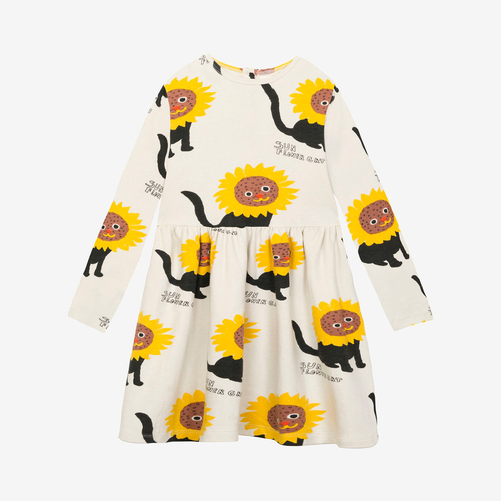 Sunflower Cats Dress by Nadadelazos - Petite Belle