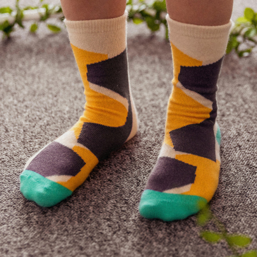 Block Socks by Bonbono - Petite Belle