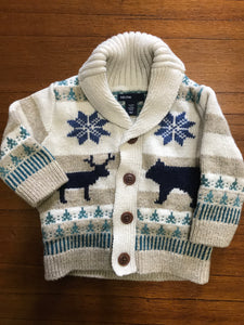 "Size: 3-6 months - ""Chill"" Baby Gap Knit Sweater"