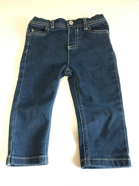 Size: 18 months - Girls Soft Cotton Denim Pants from Carter's