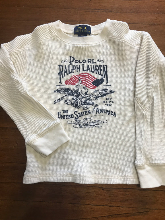 Size: 3 - Patriotic Flag Thermal from Polo Ralph Lauren