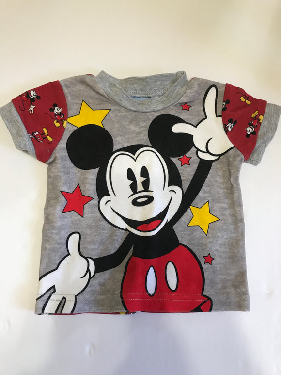 Size: 6 months - Superstar Mickey Mouse Tee from the Wonderful World of Disney