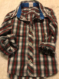 Size: 18-24 months - Baby Gap Red and Green Plaid Dress Shirt