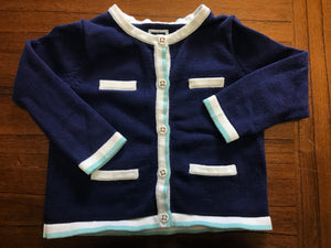 Size: 18-24 months - Blue Knit Cardigan from Janie and Jack