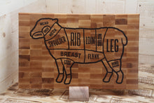 Load image into Gallery viewer, The Lamb 19*12*2 cutting board custom Cutting Boards by Broinwood.