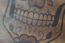 "Load image into Gallery viewer, Sugar Skull 19"" * 12"" * 1""7/8 cutting board custom Cutting Boards by Broinwood."