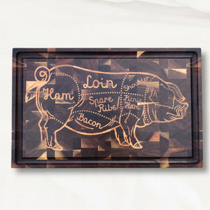 The Pig cutting board