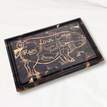 Load image into Gallery viewer, The Pig cutting board