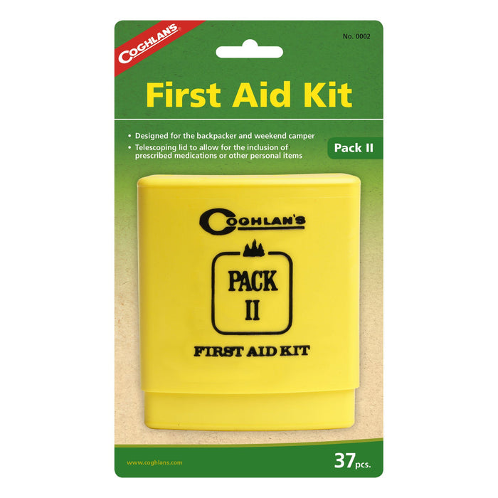 Coghlans First Aid kit II Accessories Coghlans- The Cabin Depot Off-Grid Off Grid Living Solutions Cabin Cottage Camp Solar Panel Water Heater Hunting Fishing Boats RVs Outdoors