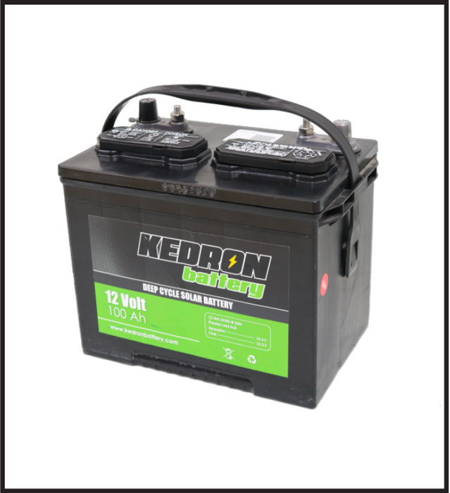 Kedron 12v 100Ah Flooded Deep Cycle G24 Battery *In Stock!*