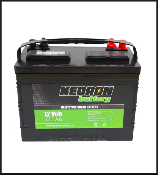 Kedron 12v 130Ah Flooded Deep Cycle G27 Battery *In Stock!*