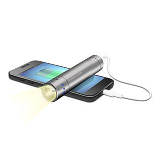 Powerocks Flashlight Magicstick 3000 mAh Portable Power Bank Charging Solutions Powerocks- The Cabin Depot Off-Grid Off Grid Living Solutions Cabin Cottage Camp Solar Panel Water Heater Hunting Fishing Boats RVs Outdoors