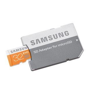Samsung 32GB Evo micro SD Card Accessories Samsung- The Cabin Depot Off-Grid Off Grid Living Solutions Cabin Cottage Camp Solar Panel Water Heater Hunting Fishing Boats RVs Outdoors