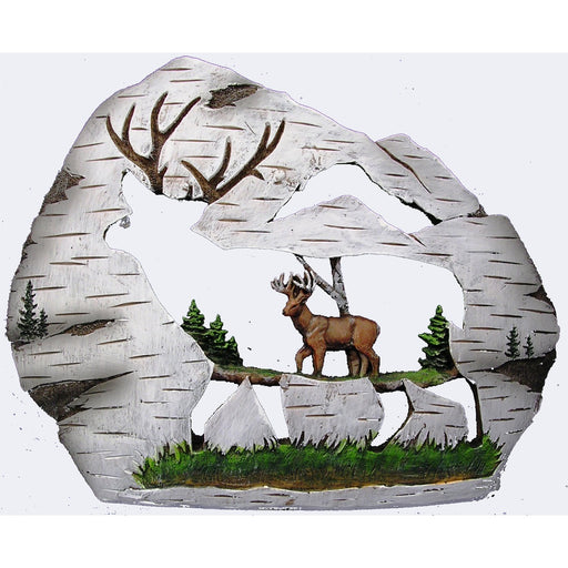 Birch Carving – Deer