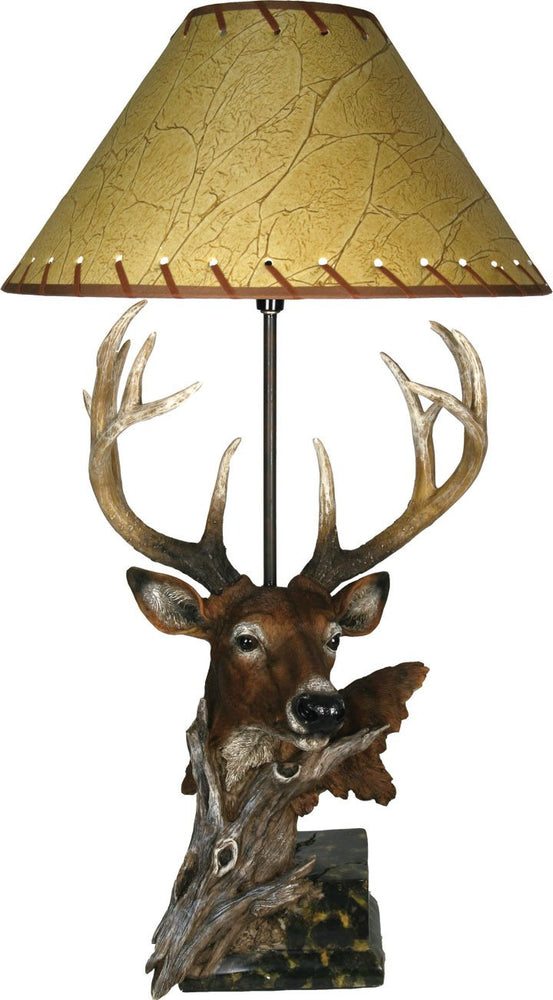 Designer Deer Table Lamp Leisure The Cabin Depot- The Cabin Depot Off-Grid Off Grid Living Solutions Cabin Cottage Camp Solar Panel Water Heater Hunting Fishing Boats RVs Outdoors