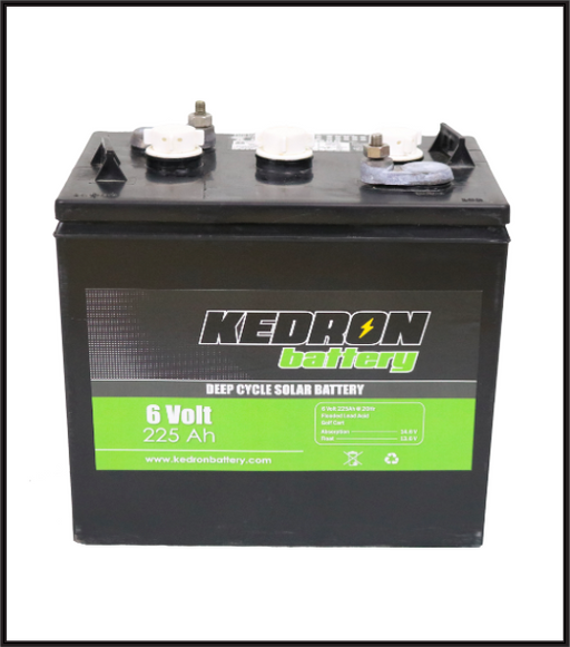 Kedron 6v 225Ah Flooded Deep Cycle GC2 Battery