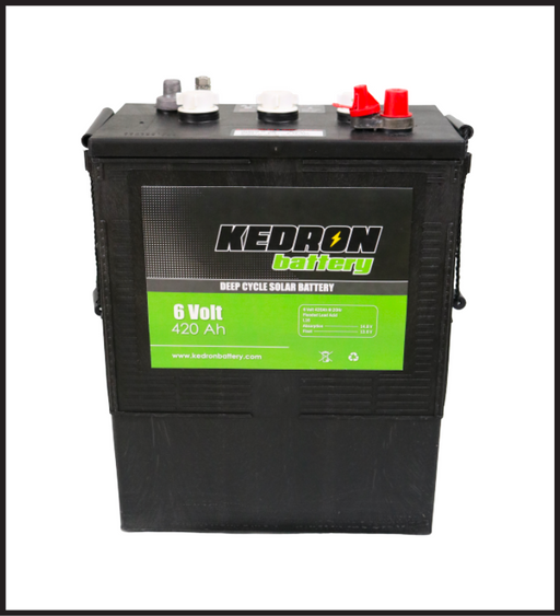 Kedron 6v 420Ah Flooded Deep Cycle L16 Battery