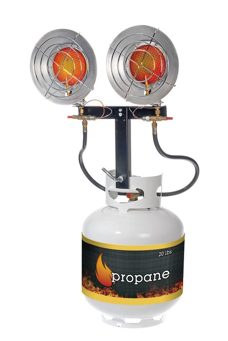 Martin Propane Two Burner Infrared Heater