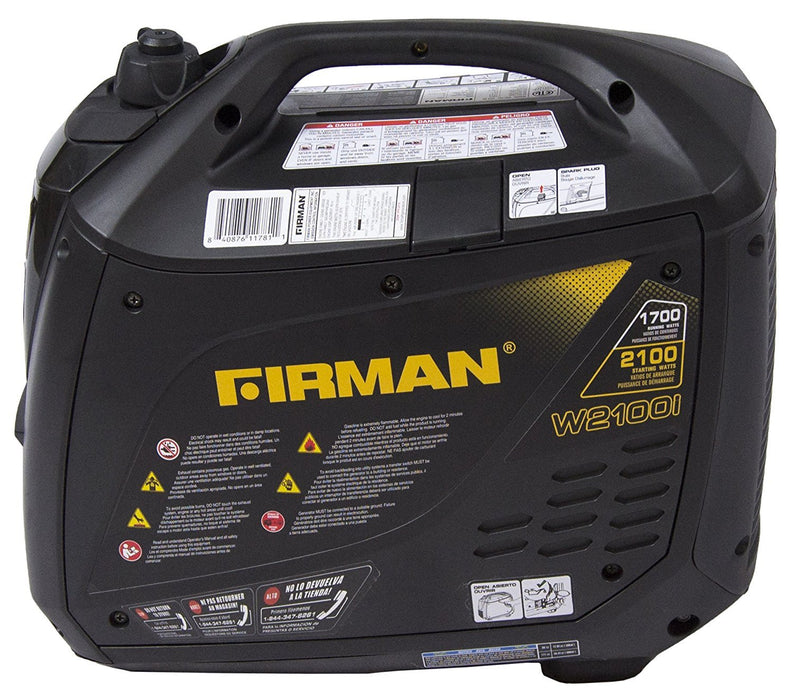 Firman Generator W01781 Whisper Series 1700 Watt Generator Firman- The Cabin Depot Off-Grid Off Grid Living Solutions Cabin Cottage Camp Solar Panel Water Heater Hunting Fishing Boats RVs Outdoors