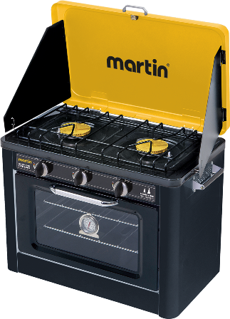Martin Portable Propane Oven & Stove Combo Leisure The Cabin Depot- The Cabin Depot Off-Grid Off Grid Living Solutions Cabin Cottage Camp Solar Panel Water Heater Hunting Fishing Boats RVs Outdoors