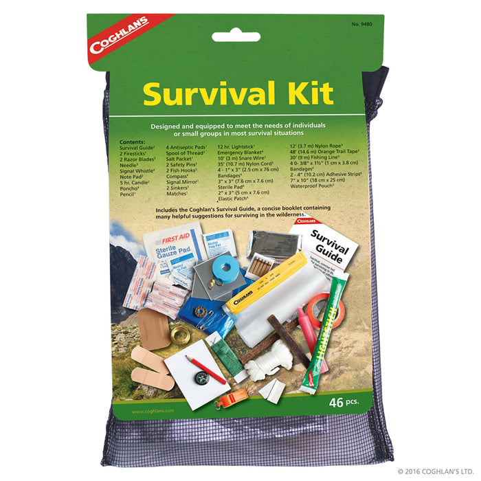 Coghlans Survival Kit