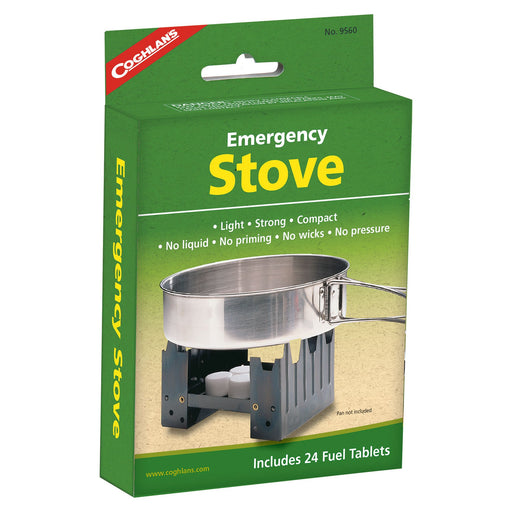 Coghlans Emergency Stove Camping / Outdoors Coghlans- The Cabin Depot Off-Grid Off Grid Living Solutions Cabin Cottage Camp Solar Panel Water Heater Hunting Fishing Boats RVs Outdoors