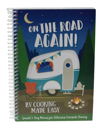 COOKBOOK ON THE ROAD AGAIN